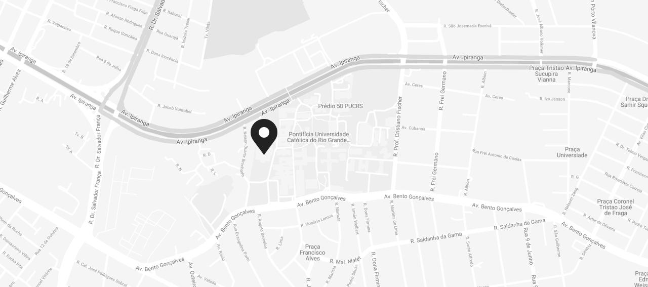 Mapa da localização do Evento