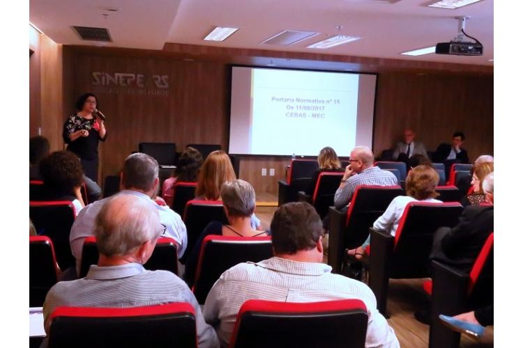 Filantropia em debate no SINEPE/RS