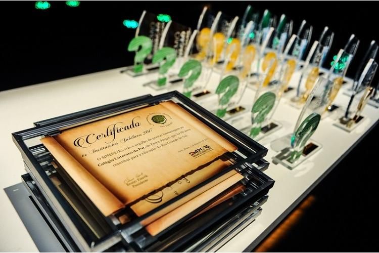 PRÊMIOS 2019: projetos com certificado de Honra ao Mérito