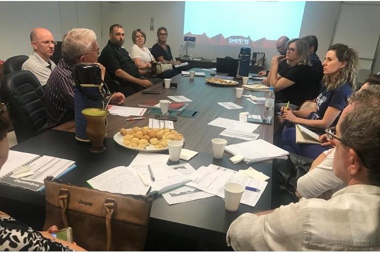 Diretoria encerra roteiro de reuniões nas Regionais