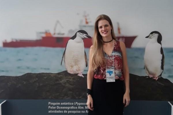 Viagem para Antártica é realização de sonho para professora do Instituto Ivoti
