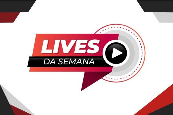 Confira a programação de lives sobre educação dos próximos dias